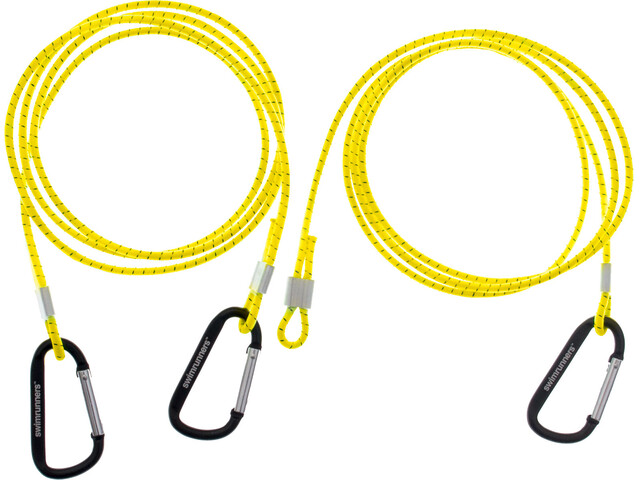 Swimrunners Hook-Cord Pull Belt 3 meter Neon Yellow